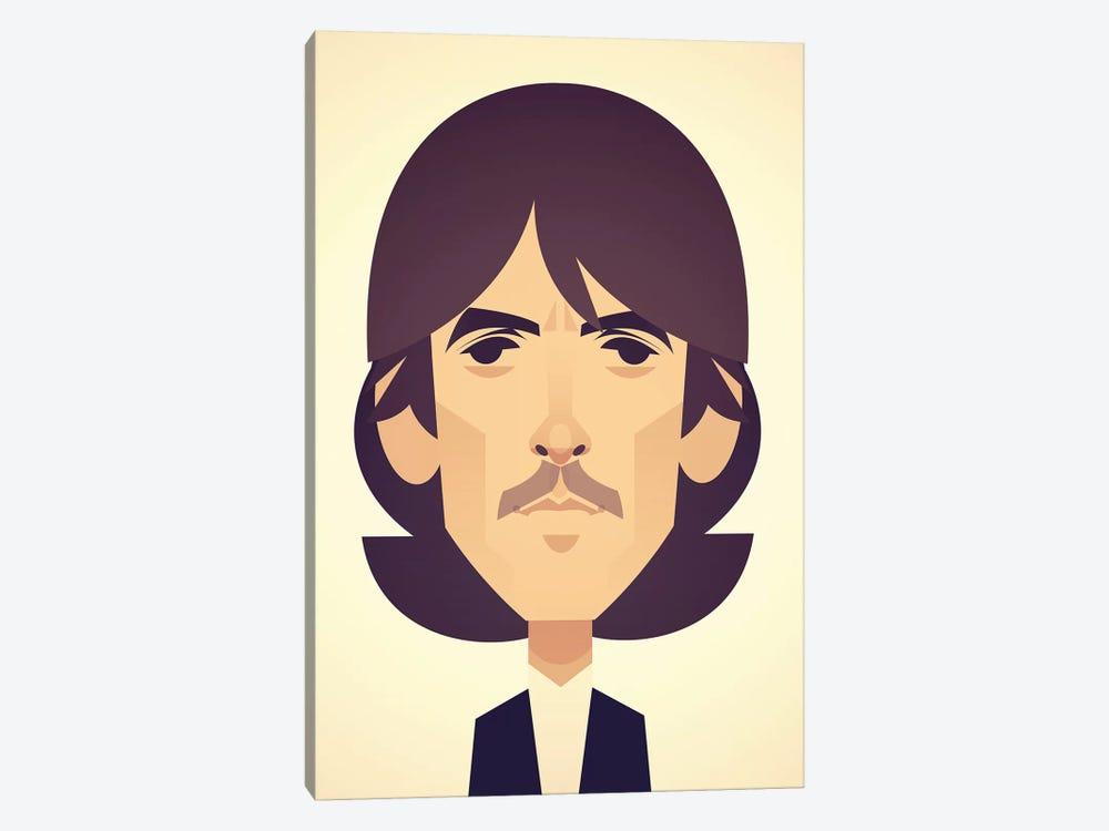 George Harrison by Stanley Chow 1-piece Canvas Artwork