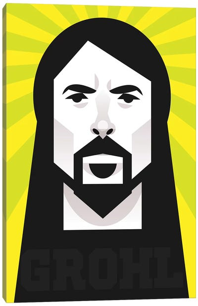 Grohl Canvas Art Print
