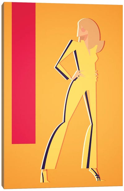 Beatrix Kiddo Canvas Art Print