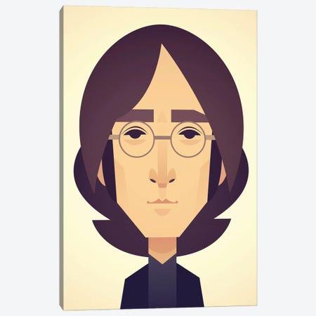John Lennon Canvas Print #SLC21} by Stanley Chow Canvas Wall Art