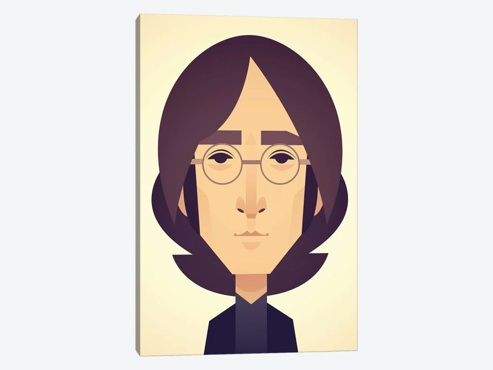 John Lennon by Stanley Chow 1-piece Canvas Artwork