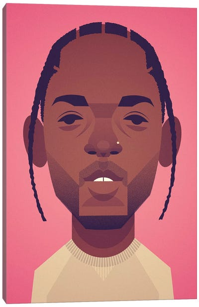 Kendrick Lamar Canvas Art Print