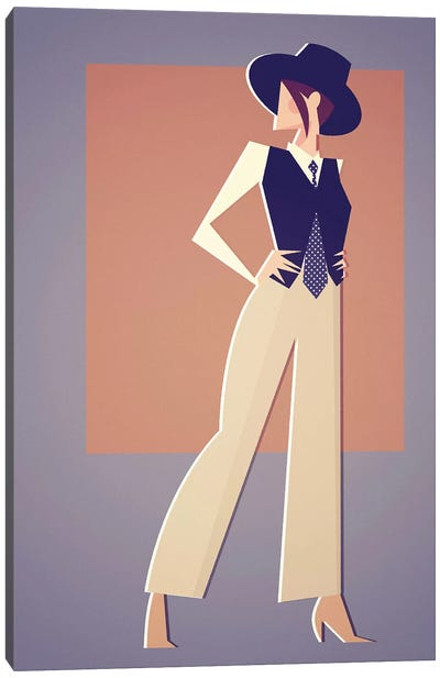 Miss A Hall Canvas Art Print
