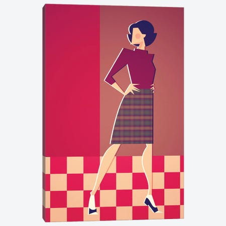 Miss Horne Canvas Print #SLC27} by Stanley Chow Canvas Print