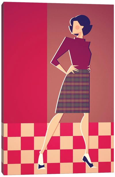 Miss Horne Canvas Art Print