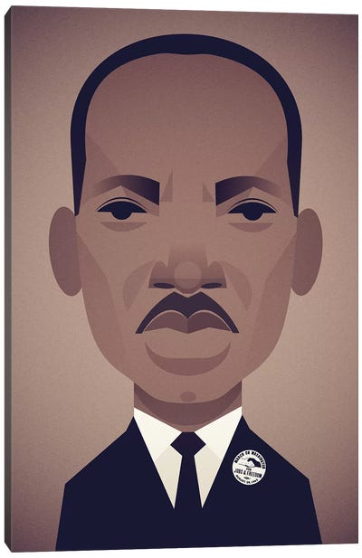 MLK Canvas Art Print