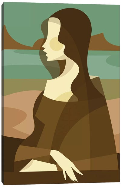 Mona Lisa Redux Canvas Art Print