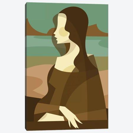 Mona Lisa Redux Canvas Print #SLC30} by Stanley Chow Canvas Art Print