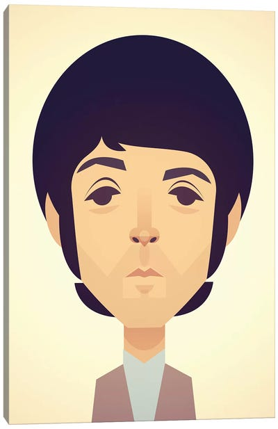 Paul McCartney Canvas Art Print