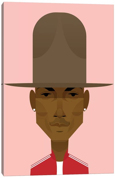 Pharrell Canvas Art Print
