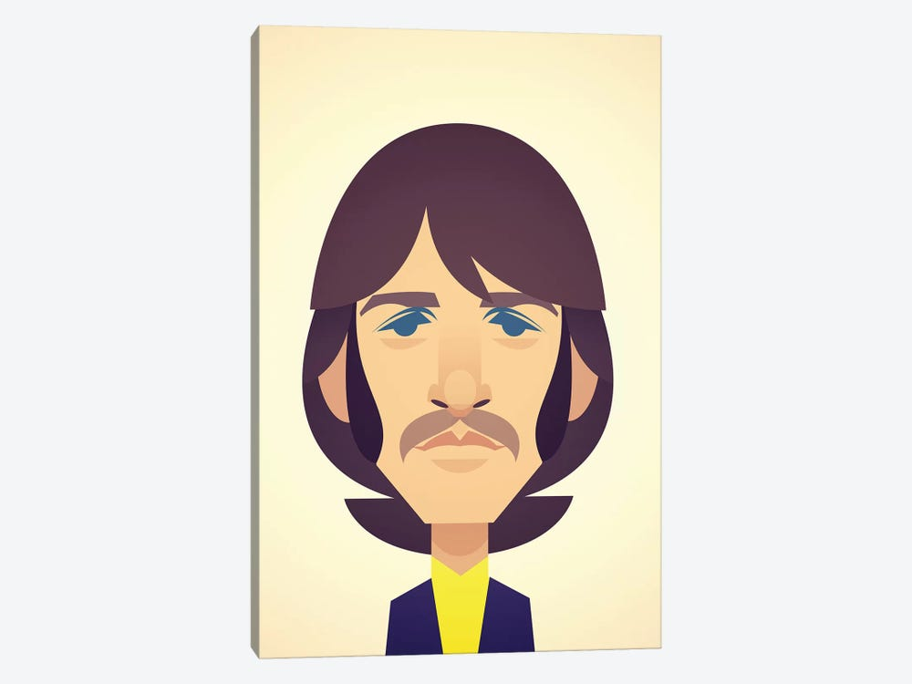 Ringo Starr by Stanley Chow 1-piece Canvas Art