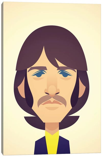 Ringo Starr Canvas Art Print