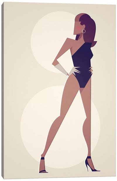 Single Lady Canvas Art Print
