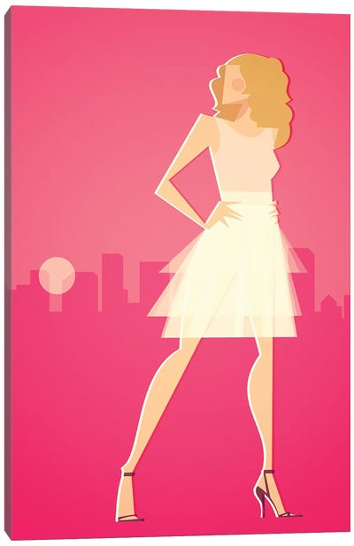 SJP Canvas Art Print