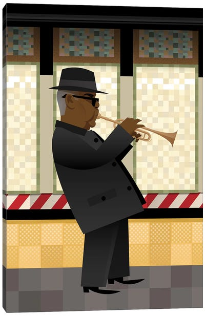 Take The A-Train Canvas Art Print