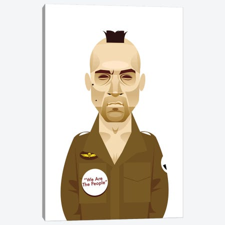 Taxi Driver  Canvas Print #SLC42} by Stanley Chow Canvas Art
