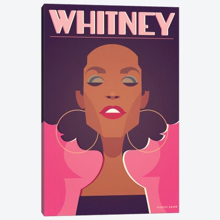 Whitney Canvas Print #SLC44} by Stanley Chow Canvas Print