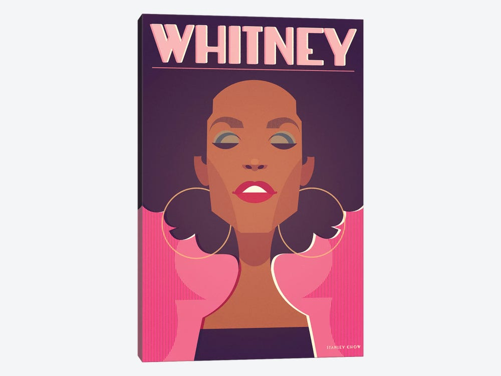 Whitney by Stanley Chow 1-piece Canvas Print