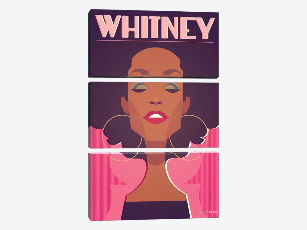 Whitney by Stanley Chow 3-piece Art Print