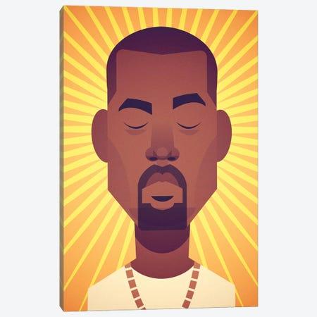 Kanye Canvas Print #SLC47} by Stanley Chow Canvas Art Print