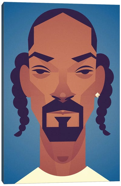 Snoop Canvas Art Print