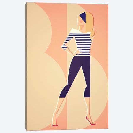 Brigitte Loves Breton Canvas Print #SLC4} by Stanley Chow Canvas Art