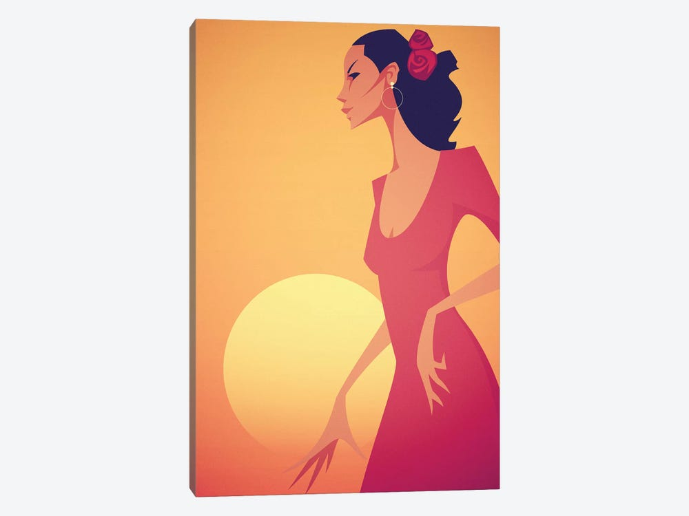 Carmen by Stanley Chow 1-piece Canvas Wall Art