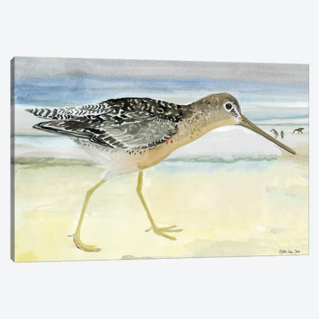 On the Beach I Canvas Print #SLD102} by Stellar Design Studio Canvas Art Print