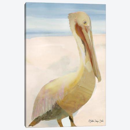 Pelican I Canvas Print #SLD105} by Stellar Design Studio Canvas Wall Art