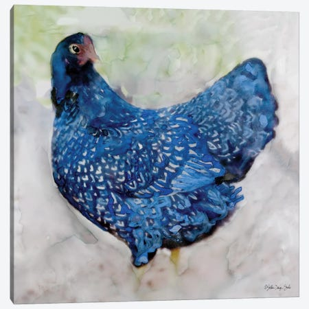 Rooster II Canvas Print #SLD108} by Stellar Design Studio Canvas Art Print