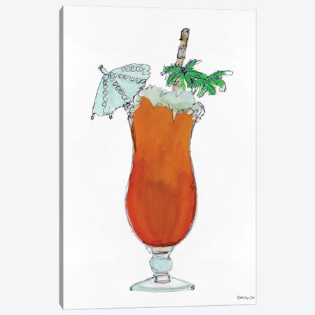 Tropical Cocktail Canvas Print #SLD113} by Stellar Design Studio Canvas Wall Art