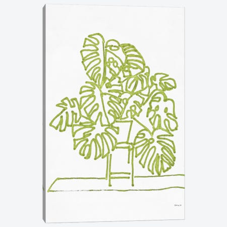 Tropical Plant II Canvas Print #SLD115} by Stellar Design Studio Canvas Art Print