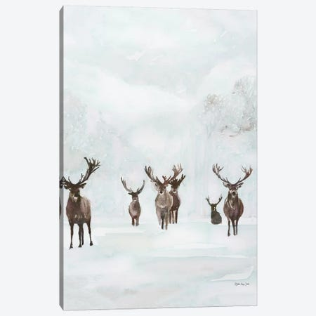 Winter Tribe 3-Piece Canvas #SLD121} by Stellar Design Studio Canvas Print