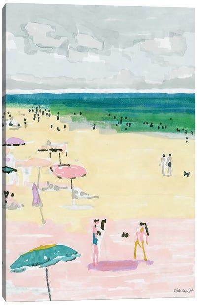 Beach Days II Canvas Art Print