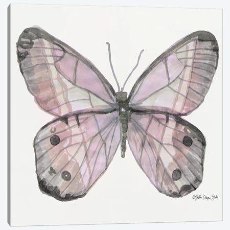 Butterfly V Canvas Print #SLD124} by Stellar Design Studio Canvas Wall Art