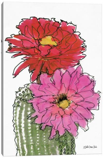 Cactus Flower I Canvas Art Print