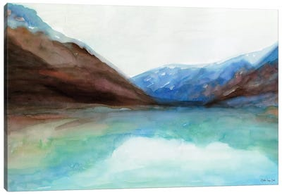 Mountain Lake VI Canvas Art Print