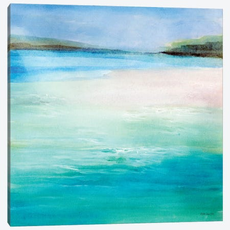 Cool Waters I Canvas Print #SLD160} by Stellar Design Studio Canvas Print