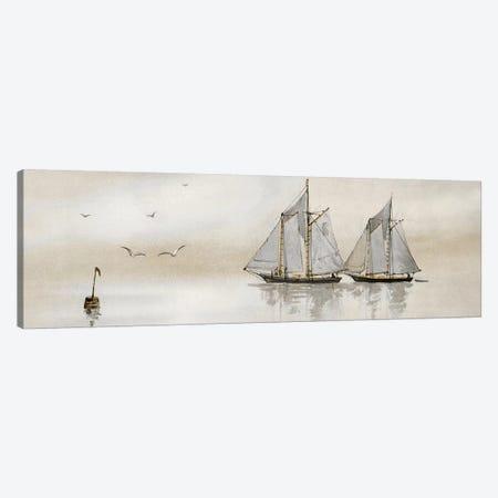 Mystic Sail I 3-Piece Canvas #SLD16} by Stellar Design Studio Art Print