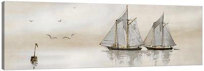 Mystic Sail I Canvas Art Print