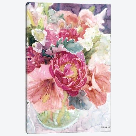 Garden Vase 3-Piece Canvas #SLD173} by Stellar Design Studio Canvas Artwork