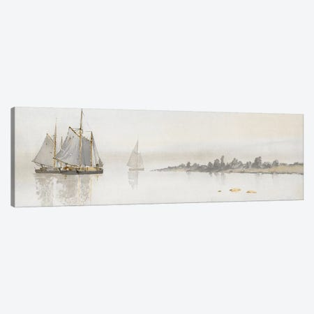 Mystic Sail II 3-Piece Canvas #SLD17} by Stellar Design Studio Canvas Art Print