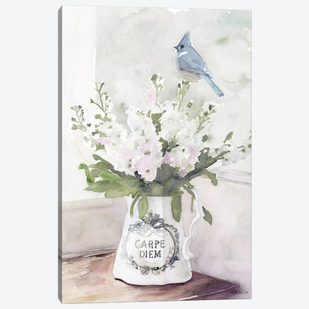 Parisian Pot III 3-Piece Canvas #SLD184} by Stellar Design Studio Canvas Art