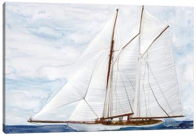 Sailing Canvas Art Print