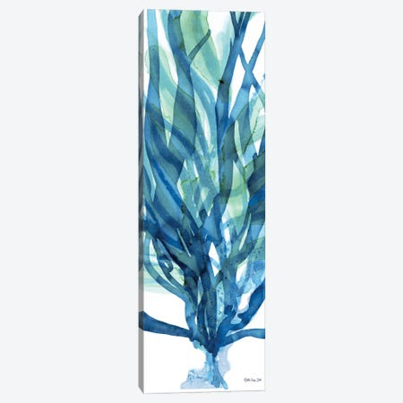 Soft Seagrass in Blue I Canvas Print #SLD196} by Stellar Design Studio Canvas Art Print