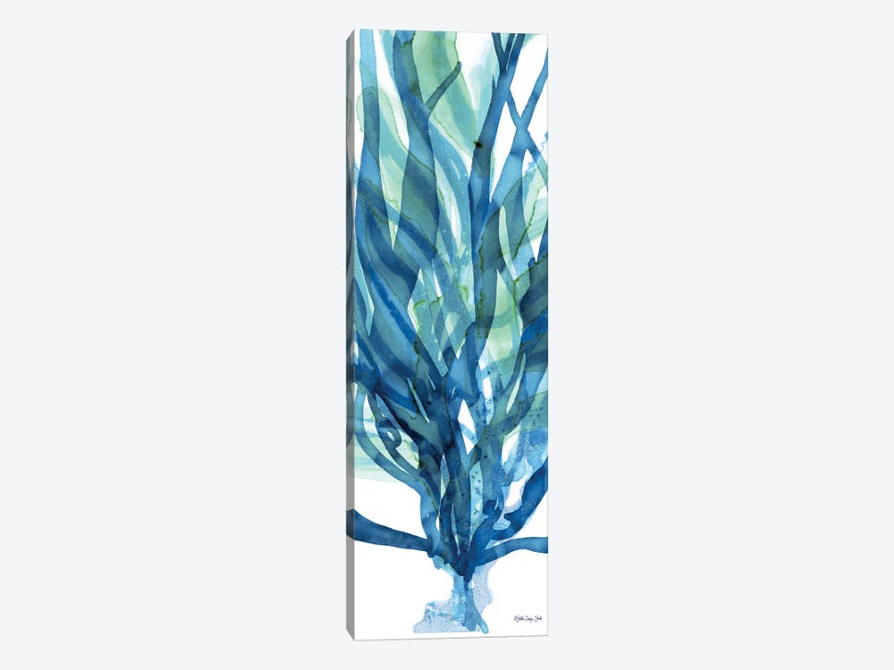Soft Seagrass in Blue I by Stellar Design Studio 1-piece Canvas Print
