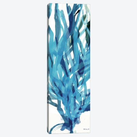 Soft Seagrass in Blue II Canvas Print #SLD197} by Stellar Design Studio Canvas Art Print