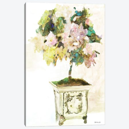 Topiary in Antique Vase 3-Piece Canvas #SLD201} by Stellar Design Studio Canvas Art