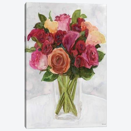 Vase with Flowers II Canvas Print #SLD206} by Stellar Design Studio Canvas Print