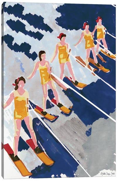 Water Ski Show I Canvas Art Print